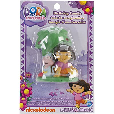 Wilton Dora the Explorer Candle: Decorative Cake Toppers: Kitchen & Dining