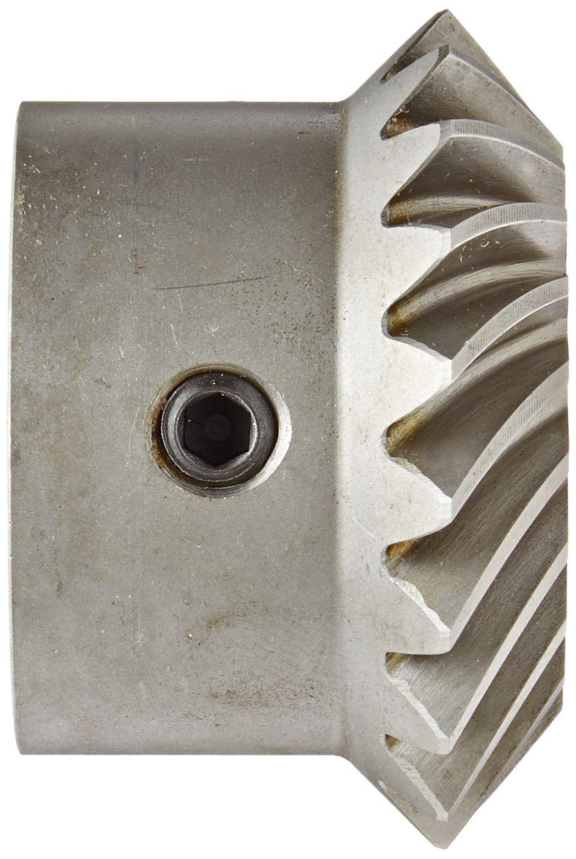 35 Degree Spiral Angle Boston Gear LSA103YL Spiral Miter Gear 0.750 Bore Steel 20 Teeth 10 Pitch 1:1 Ratio