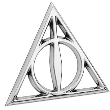 Deathly Hallows Symbol Emblem Harry Potter Premium 3d Automotive