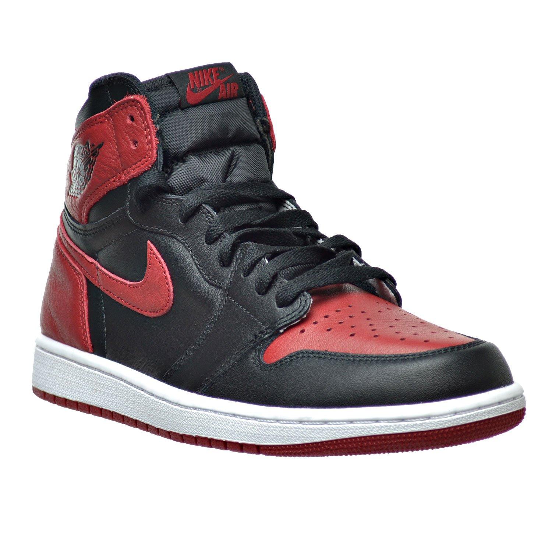 hot sale online 4c1fa 2d2a7 Amazon.com   Jordan Air 1 Retro High OG Men s Shoes Black Varsity Red White  555088-001 (13 D(M) US)   Basketball