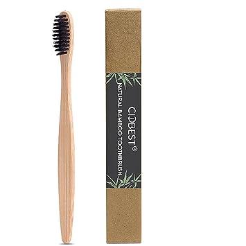 Madera Cepillo de dientes cepillo de dientes, bambú, todos los Naturales bambú Mango &