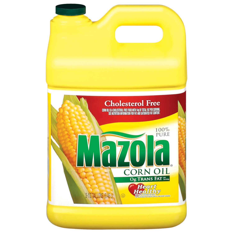 Mazola Corn Oil (2.5 gal. jug) by Europe Standard