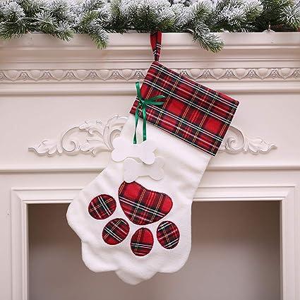 Navidad gato Vengador calcetines bolsa de caramelos Creative, zahuihuim de peluche árbol ahorcamiento regalo caramelos