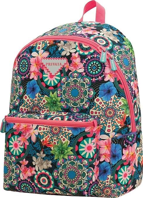 Mochila Teen Escolar Privata Floral