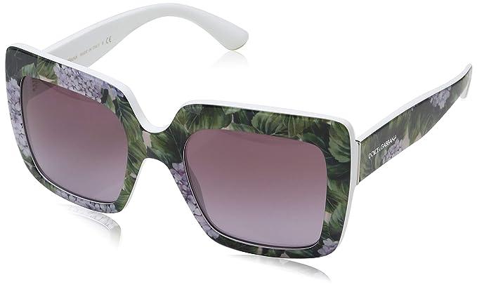 Dolce & Gabbana 0DG4310 31498H 52 Gafas de sol, Blanco ...