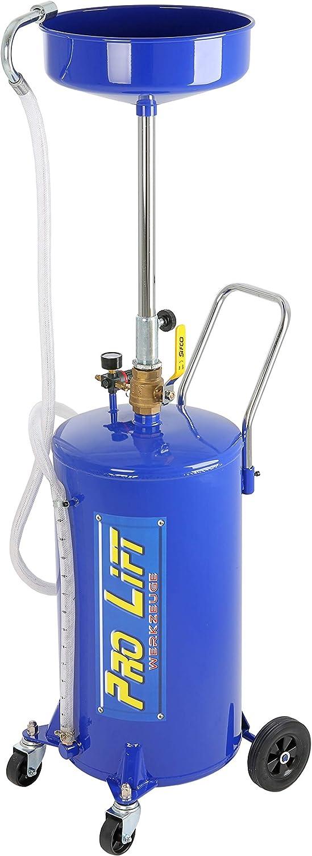 Pro Lift Werkzeuge Ölauffangwagen 68 L Pneumatisch Altöl Auffanggerät 68l Ölbehälter Ölablassgerät Auto