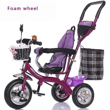 Carretilla de la luz de la rueda de burbuja, bicicleta de los niños, bicicleta