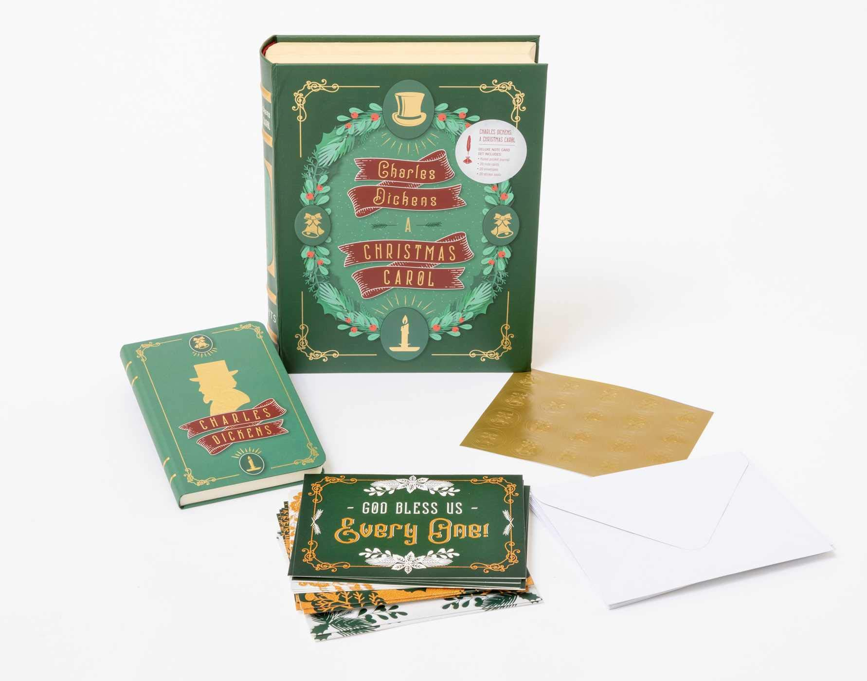 Read Online Charles Dickens: A Christmas Carol Deluxe Note Card Set (With Keepsake Book Box) ebook