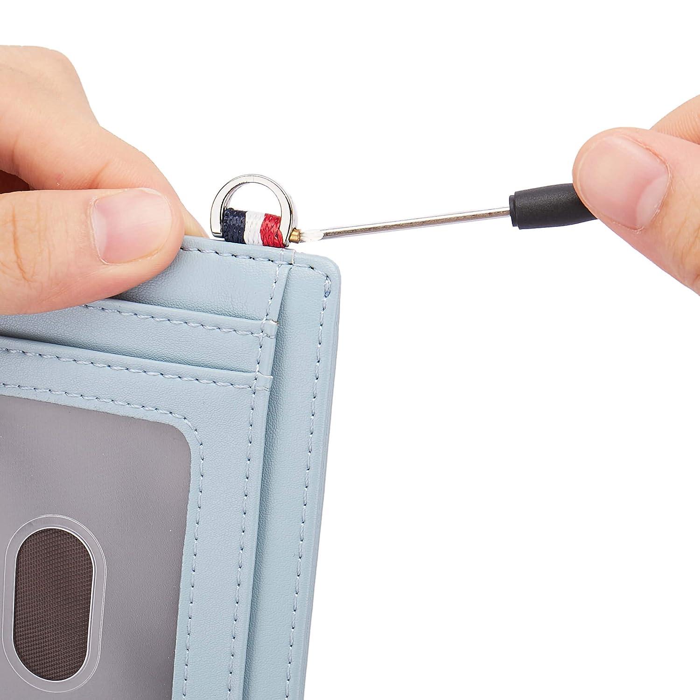 Small RFID Blocking Minimalist Credit Card Holder Pocket Slim Wallets for Men Women