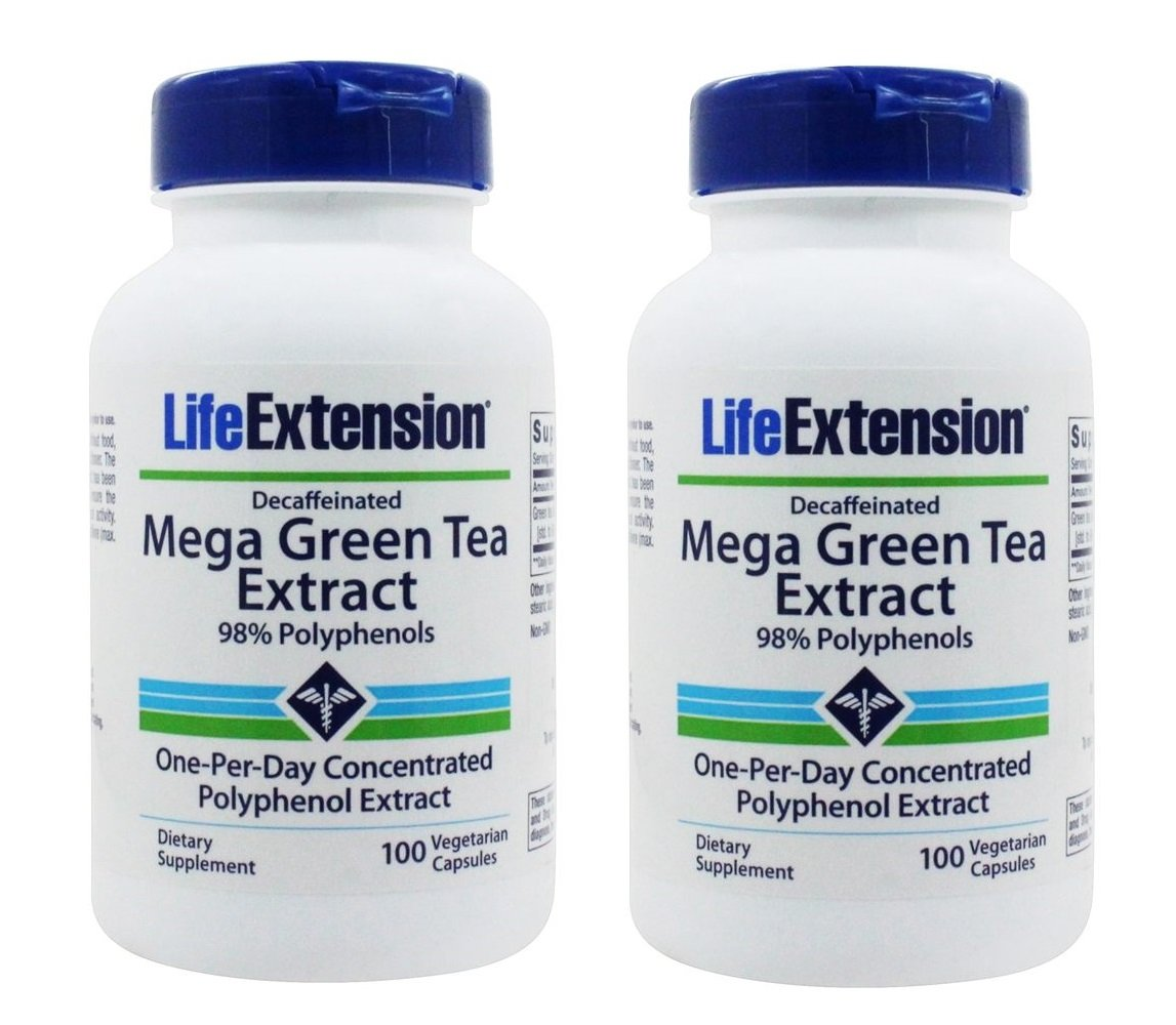 Mega Green Tea Extract - 100 ct (Pack of 2)