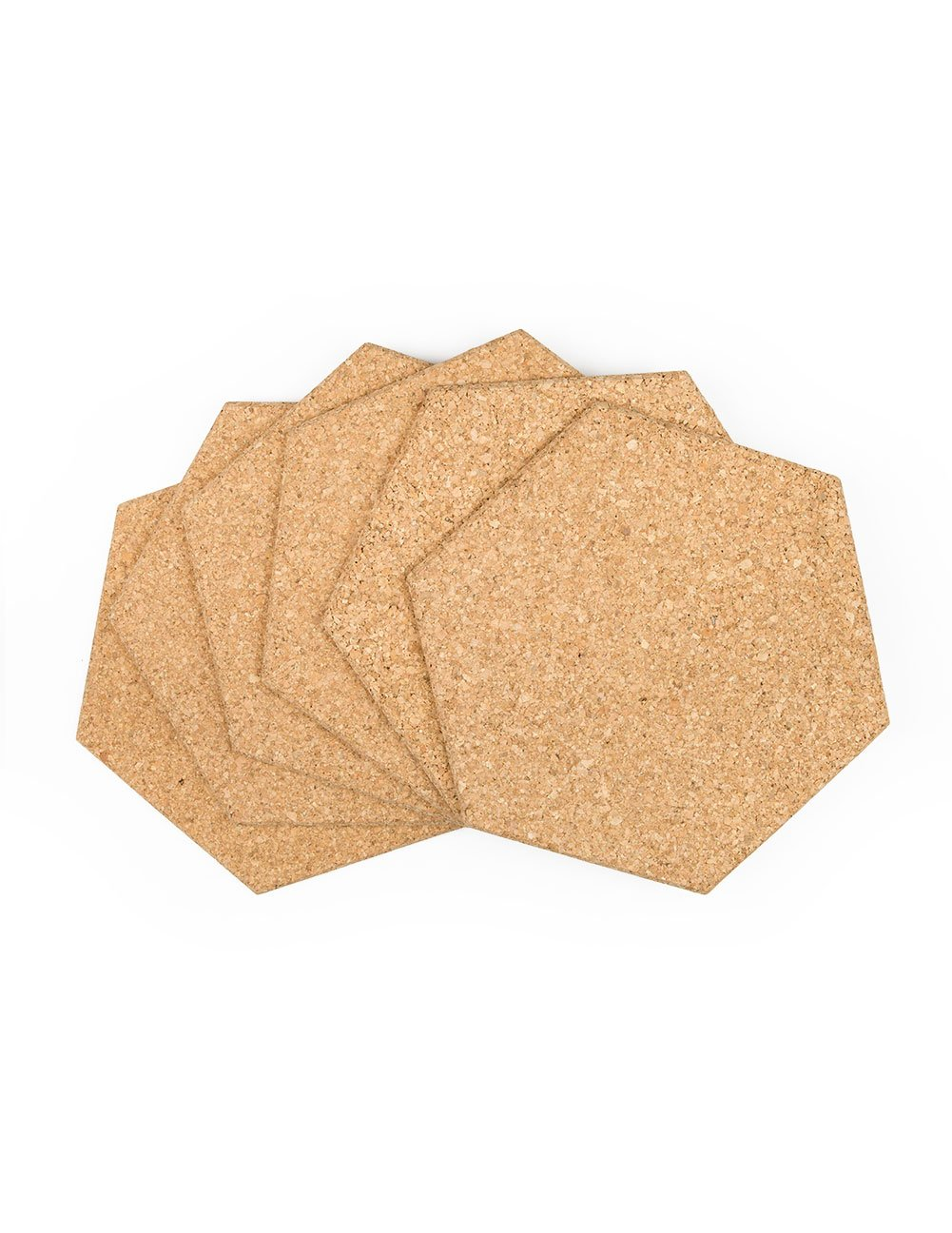 Amazon.com: Cork Hexagon Memo Boards: 300 mm Wide X 300 mm Long X 8 ...