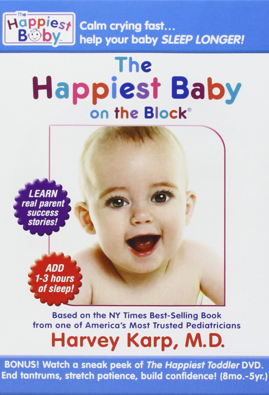 Buy The Happiest Baby on the Block Combo (The New Way to Calm Crying and Help  Your Baby Sleep Longer DVD + Super-Soothing Sleep Sounds CD) by Dr. Harvey  ...