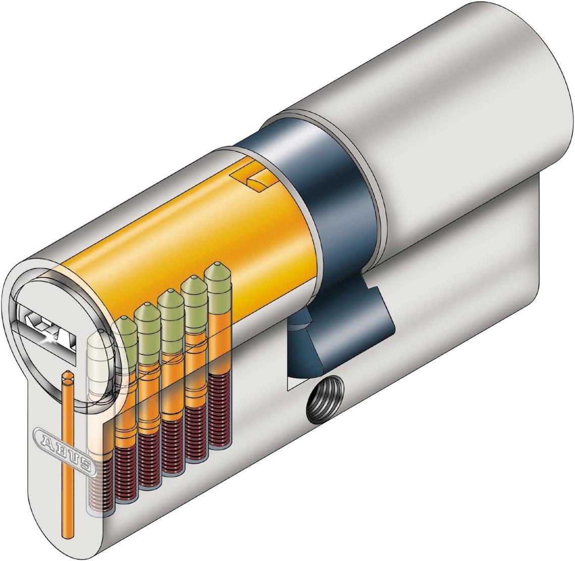 G n/&g Sécurité Serrure Cylindre De Verrouillage Profil Cylindre ABUS 55//60 55x60 115 mm N