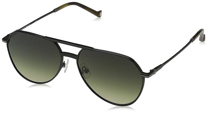 Hackett Bespoke Sunglasses HSB869 Gafas de sol, Verde ...