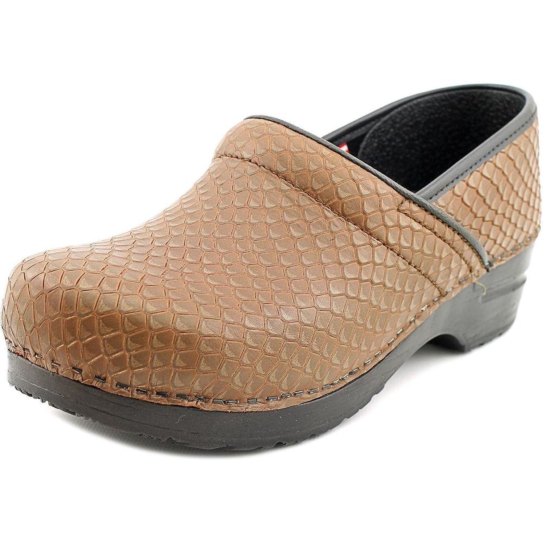Sanita Prof. Faye Round Toe Leather Clogs