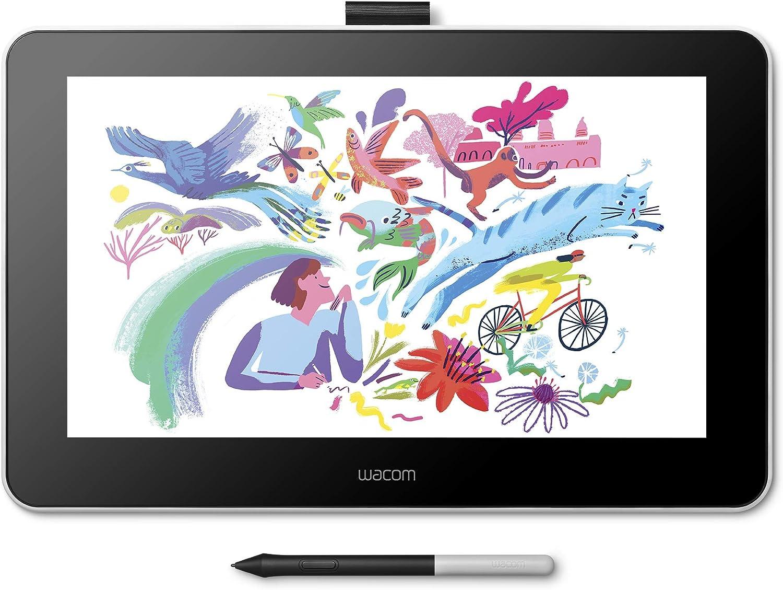 ワコム 液晶ペンタブレット 液タブ Wacom One 13 アマゾンオリジナルデータ特典付き DTC133W1D