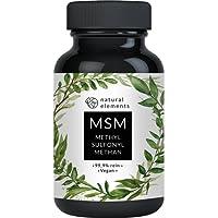 Der VERGLEICHSSIEGER 2018* MSM Kapseln - 365 vegane Kapseln - Laborgeprüft - 1600mg Methylsulfonylmethan (MSM) Pulver pro Tagesdosis - Ohne Magnesiumstearat, hochdosiert, hergestellt in Deutschland