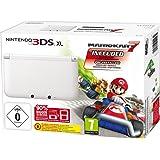 Console 3DS XL blanche avec Mario Kart 7 - édition limitée