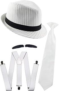 Zubehör Accessoire Karneval Fasching Gangster Accessoire-Set 5-teilig NEU