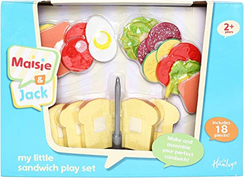 Maisie and Jack HM MY LITTLE SANDWICH PLAYSET: Amazon.co.uk