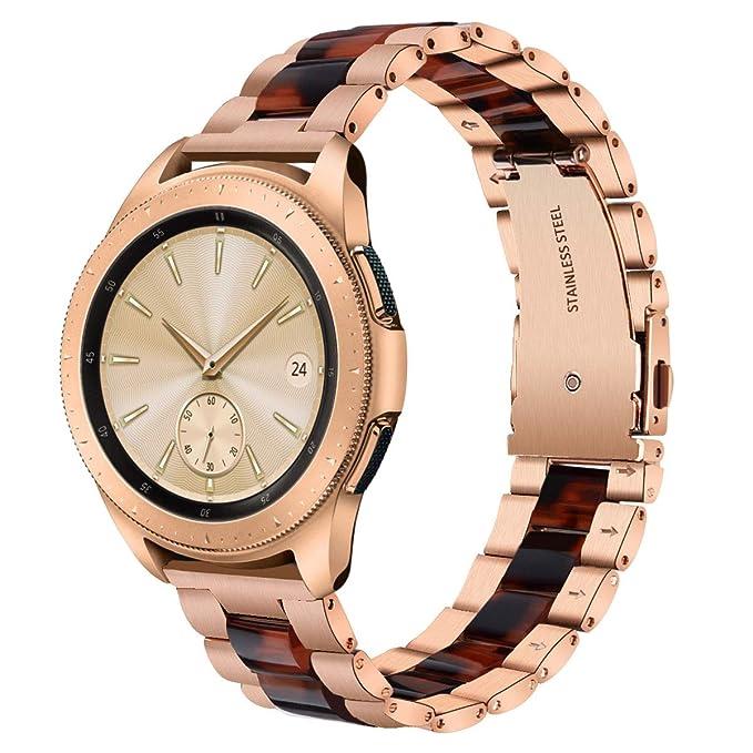 v-moro Accesorios Fashion Metal Bandas de Reloj para Samsung ...