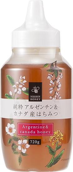 Nissin miel pura Argentina y 720 g de miel de Canadae