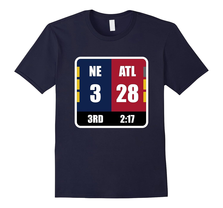NE 3 ATL 28 Final Tee T-shirt Amazing Comeback Ever-FL