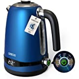 GREECHO Electric Kettle, 7-Gear Electric Kettle Temperature Control (Boil & Keep Warm) with LED Display, 1.7L Electric Tea Ke