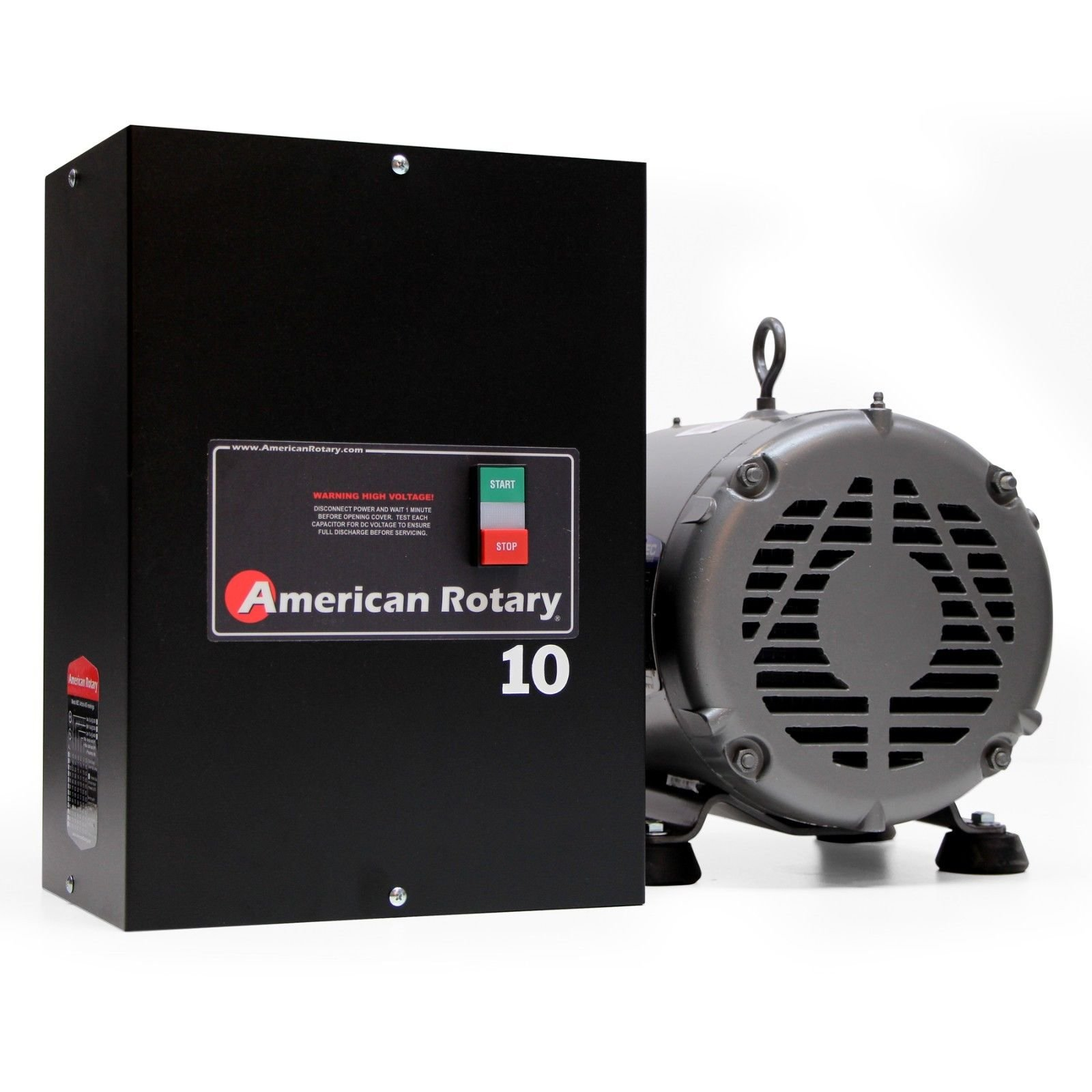 Rotary Phase Converter AR10-10HP 1 to 3 Three PH Made is USA by American Rotary (Image #7)