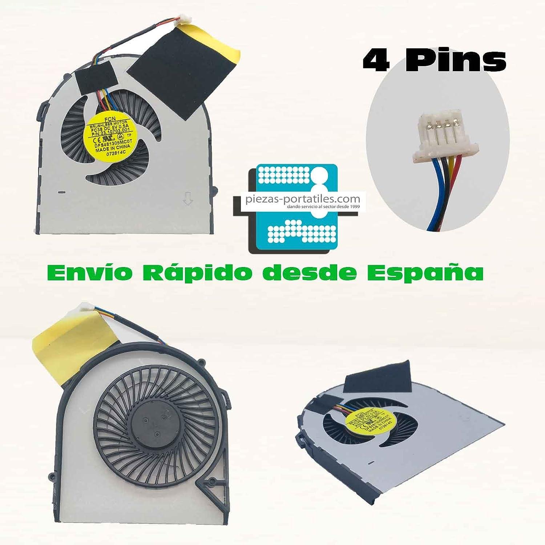 Fan Ventilador Nuevo Compatible para Acer FC38 23.10703.001 4 Pins ...