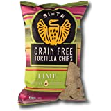 Siete Grain Free Tortilla Chips, Lime, 5 oz