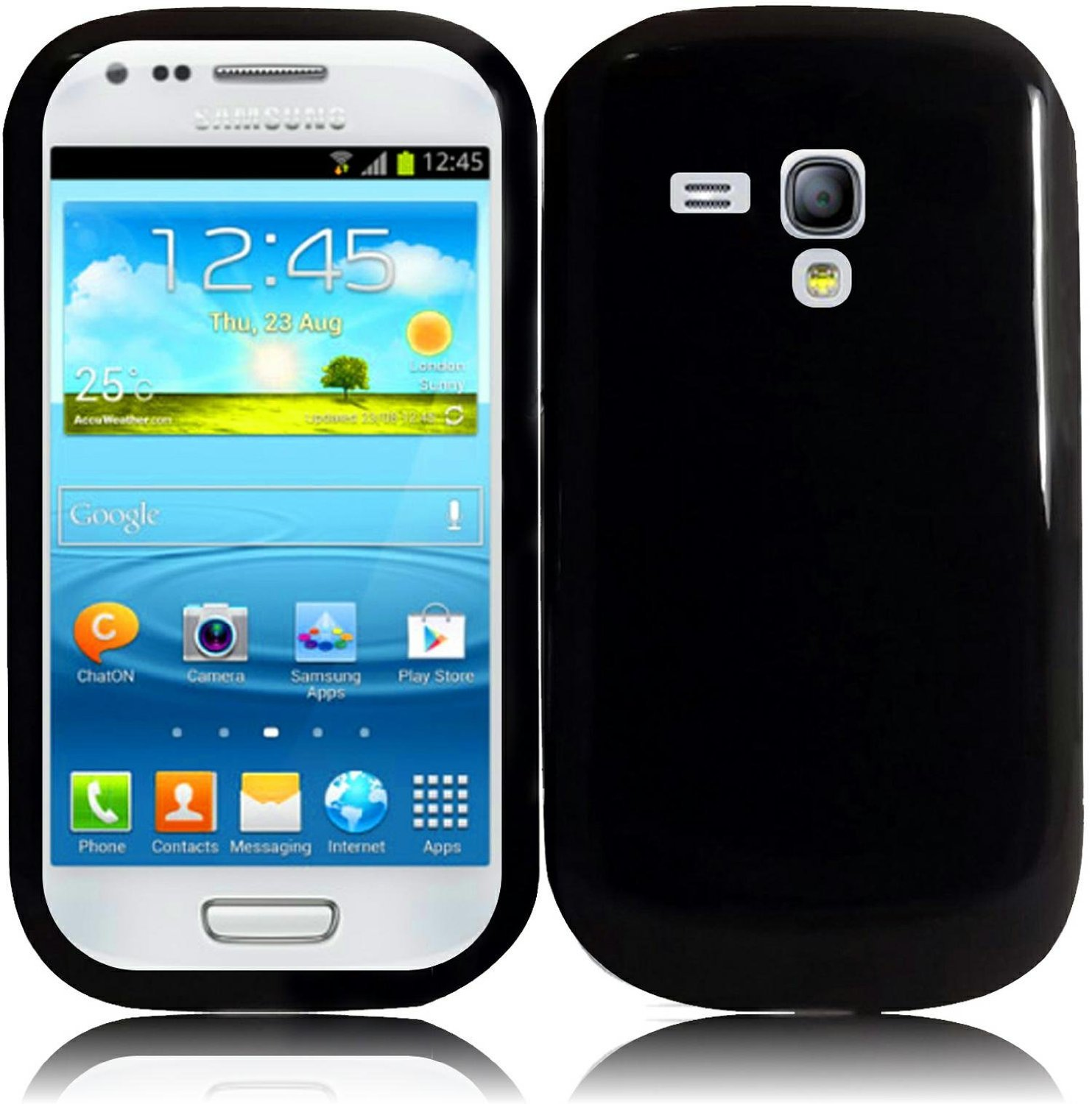 Samsung galaxy s3 mini i8190 power button ways - Amazon Com For Samsung Galaxy S3 Mini I8190 Tpu Cover Case Black Accessory Cell Phones Accessories