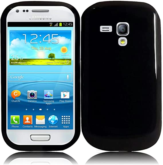 huge selection of 3945b 63d89 For Samsung Galaxy S3 Mini i8190 TPU Cover Case Black Accessory
