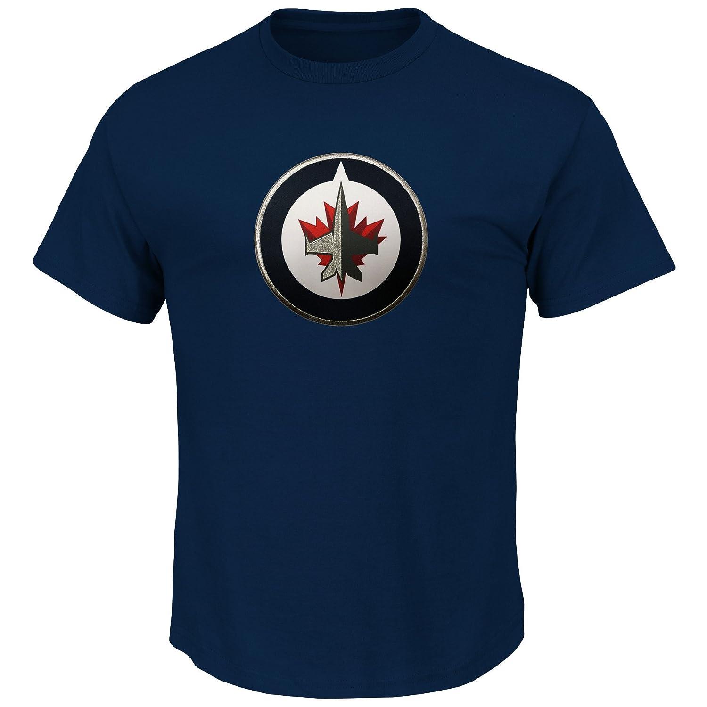 激安特価 Winnipeg Jets NHLメンズ刺繍軽量TekパッチTシャツ Small B00NUF2WVM Small Winnipeg B00NUF2WVM, 爽快ドリンク専門店:0d9a6a56 --- a0267596.xsph.ru