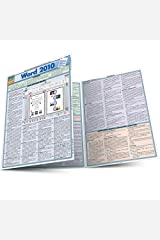 Word 2010 (Quickstudy: Computer) Pamphlet