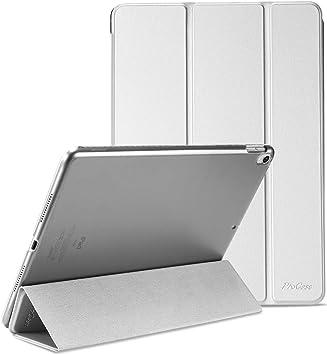 """ProCase Funda 10,5"""" iPad Pro 2017/iPad Air 2019, Estuche Inteligente Ultra Delgada Ligera con Soporte Reverso Translúcido Esmerilado para iPad Air 3.ª Generación/iPad Pro 10.5 Pulgadas -Plata: Amazon.es: Electrónica"""