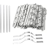 Nose Bridge Strips for Mask, Oceantree Aluminum Metal Flat Strips Straps Adjustable Nose Clips Wire for DIY Face Mask…
