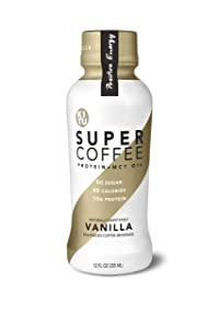 Kitu Super Coffee Vanilla Sugar-Free Formula,10g Protein, Keto Approved, Lactose Free, Soy Free, Gluten Free, Pack of 12