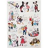 ディズニー シール カレンダー 2017 ミッキー ミニー マウス ドナルド デイジー ダック 他 ( ディズニーリゾート限定 グッズ お土産 )