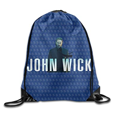 Amazoncom Vind John Wick 2 Thriller Drawstring Backpack Sack Bag