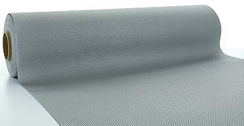 Tischdecke Einweg 1 Tischdeckenrolle Rot aus Linclass® Airlaid 120 cm x 25 m