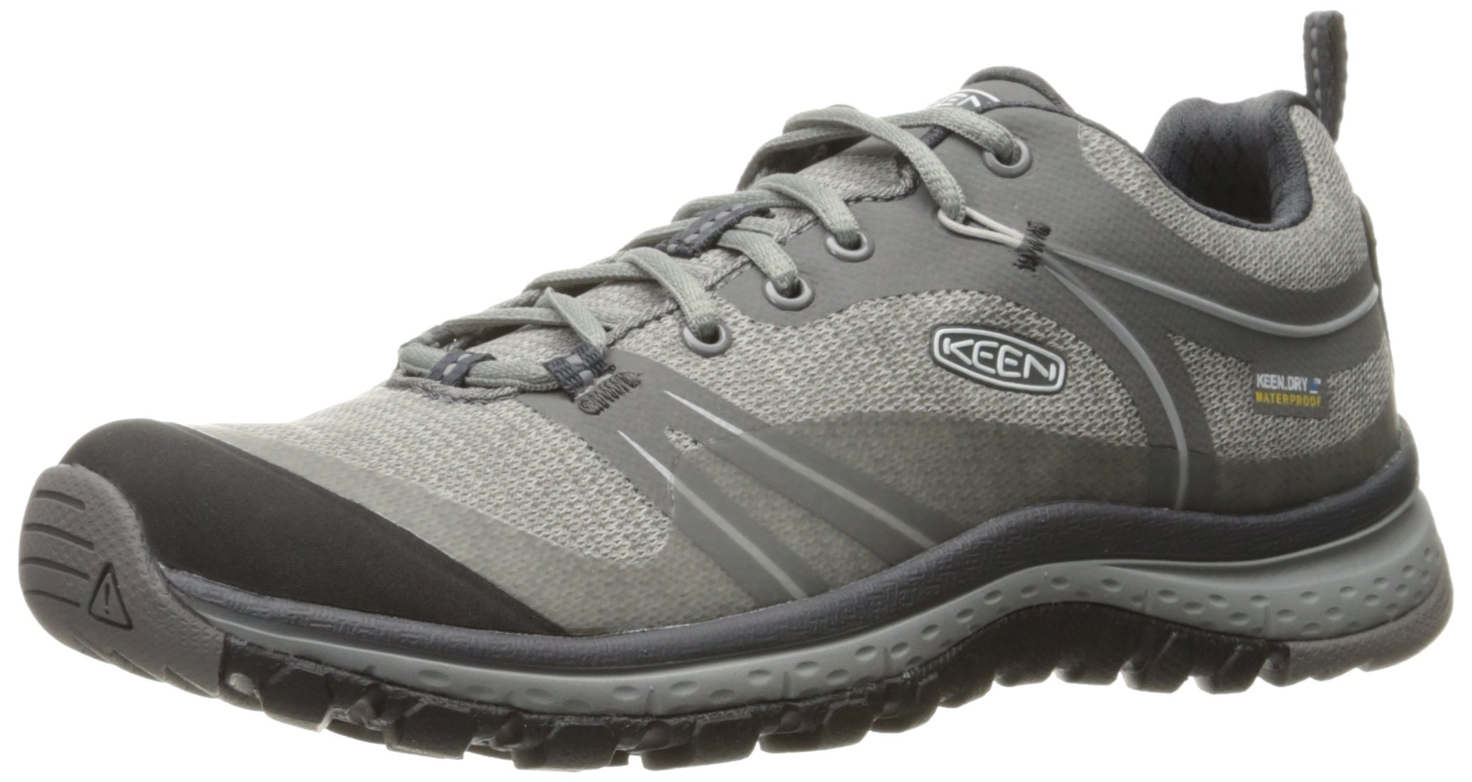 KEEN Women's Terradora Waterproof Hiking Shoe, Neutral Gray/Gargoyle, 7.5 M US