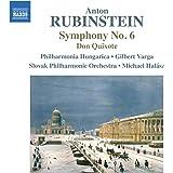Rubinstein: Symphony No. 6 [Gilbert Varga, Michael Halász] [Naxos: 8.555394]