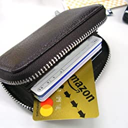 Amazon Aoakua スキミング防止 カードケース 牛革 じゃばら 大容量収納 14ポケット ピンク Aoakua クレジットカードケース