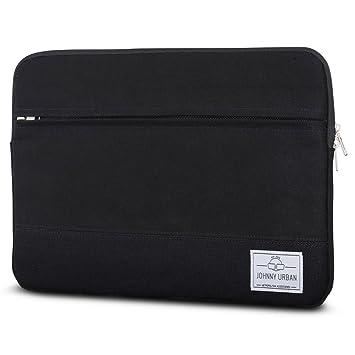 """617105465a Johnny Urban Housse en Toile pour Ordinateur Portable 14 Pouces/MacBook Pro  15"""" Noir"""