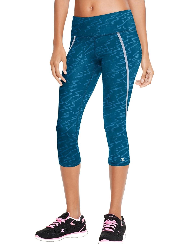 Champion Womens Marathon Performance Capri Legging Champion Women/'s Activewear M8856
