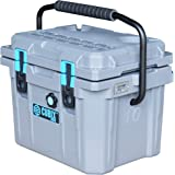 Cubix Coolest Cooler | 10 Quart Gray Lifetime Rotomolded Ice Cooler | Portable and Hard Lunch Box | Perfect for Fishing and B