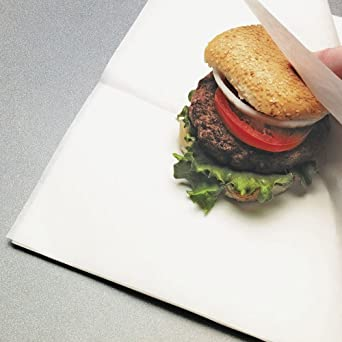 Paper Sandwich Wrap//Basket Liner Natural Kraft 12L x 12W 1000 Per Case