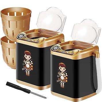 Amazon.com: 2 piezas electrónica de polvo Puff Mini lavadora ...