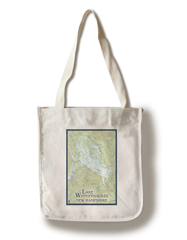 【テレビで話題】 湖Winnipesaukee、New Hampshire – Sign 湖Winnipesaukee、New Noアイコン 12 x 18 B01841J2NC Metal Sign LANT-46179-12x18M B01841J2NC Canvas Tote Bag Canvas Tote Bag, コウトウク:e55805d2 --- 4x4.lt